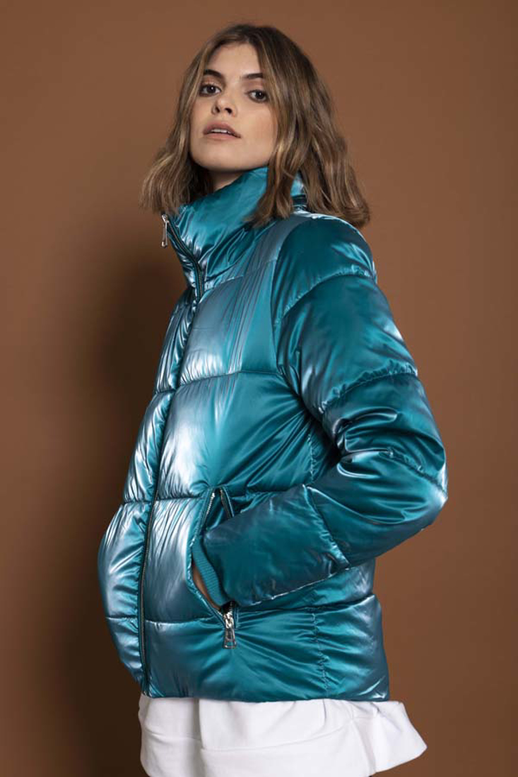 Picture of HIGH COLLAR PUFFER JACKET (2)