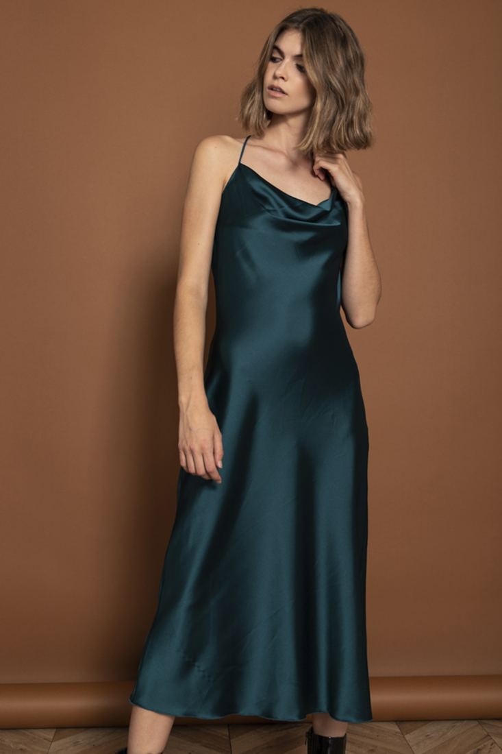 Picture of SATIN DRESS (2)